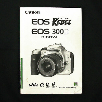 canon 300d user guide daily instruction manual guides u2022 rh testingwordpress co canon eos rebel k2 3000v instruction manual Owners Manual Canon