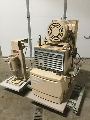 Stokes 212 MicroVac Vacuum 150CFM 7.5HP & Oil Purification Pump .5HP 230/460V 3Ø