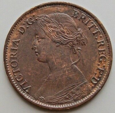 1861 Nova Scotia Canadian 1/2 Cent Queen Victoria Coin