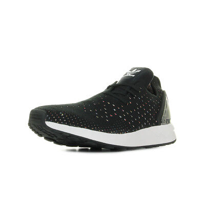mode designer 830cc 561aa CHAUSSURES BASKETS ADIDAS homme ZX Flux Adv Asymetrical Primeknit taille  Noir