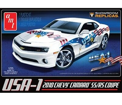 USA-1 2010 Chevy Camaro SS/RS Coupe 1/25 scale skill 2 AMT plastic model kit#778