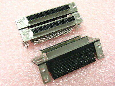 68 Pin .050 Series DUAL PCB Mount Female Con QTY 25 FOR NATIONAL INSTRUMENTS DAQ