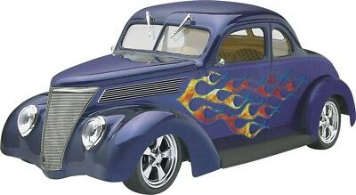 1937 Ford Coupe Street Rod 1/24 scale skill 2 Revell plastic model kit#4097