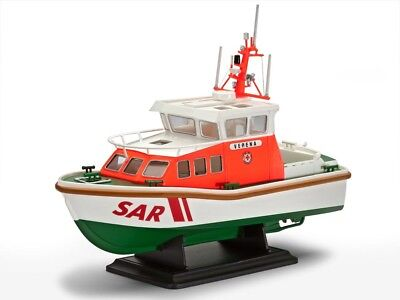 Rescue Boat WALTER ROSE/VERENA DGzRS 9,5 m-Class 1/72 scale skill 3 Revell#5214