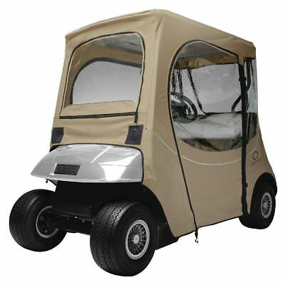 EZ GO GOLF CAR ENCLOSURE SHORT ROOF, Khaki - Classic# 40-058-335801-00