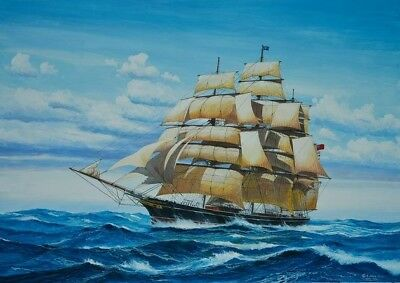 Cutty Sark Tall Ship 1/96 scale skill 5 Revell model kit#5422