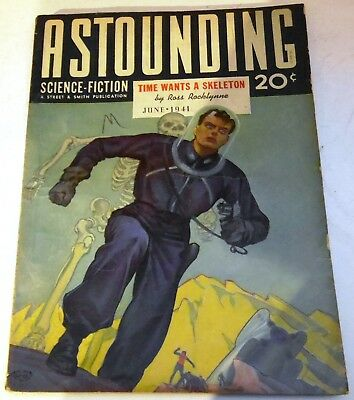 Astounding Science-Fiction - US pulp - June 1941 - Vol.27 No.4 - Theo. Sturgeon