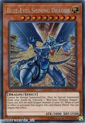 LCKC-EN008 Blue-Eyes Shining Dragon Secret Rare 1st Edition Mint YuGiOh Card