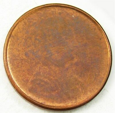 1997 Lincoln Cent Mint Error - Obverse Capped Die? - Bright UNC Coin