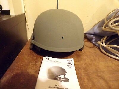 US ARMY MICH ACH ADVANCED COMBAT HELMET GENTEX MSA SDS BAE  size M  PRE-OWNED