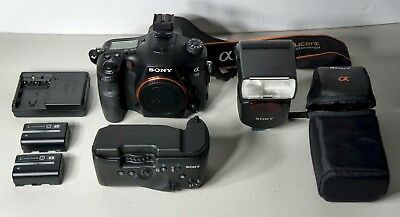 Sony Alpha SLT-A99V 24.3MP Digital SLR Camera With Accessories