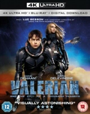 Valerian and the City of a Thousand Planets & 4K Ultra HD Reg B Blu-ray Digital