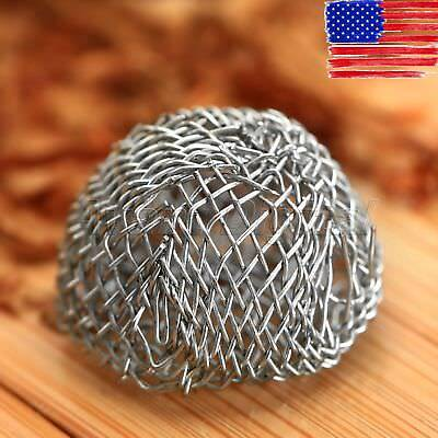10pcs Tobacco Smoking Pipe Metal Screen Ball Filter Diameter US STOCK