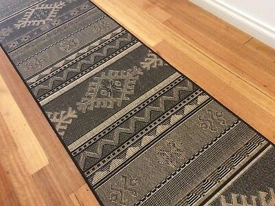 Hallway Runner Hall Runner Rug Modern Black 4 Metres 121042 We Can Cut To Size
