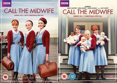 Call the Midwife Series 5 + 6 Season Five Six Region 4 DVD New