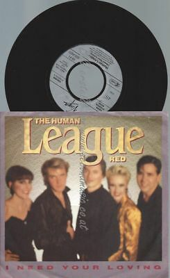 """7""""   The Human League – I Need Your Loving"""