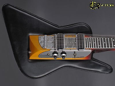 1980´s Melobar 10 String Lapsteel guitar  Padded Explorer Form (Like D Lindley)