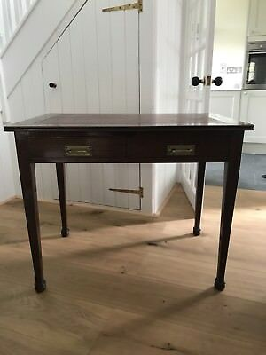 Beautiful Mahogany Desk - Edwardian