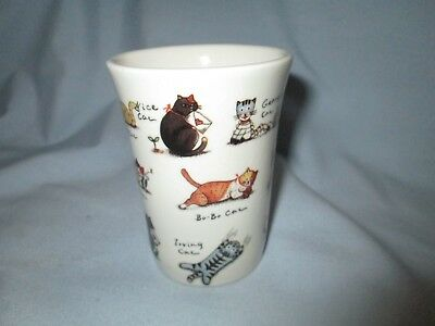 Ceramic Cat Cup Tumbler Glass By Fine House Made In Taiwan