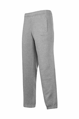 Reebok Core Cuff Sweat Pants Mens Grey Track Tracksuit Bottoms Pantalon