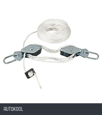 Silverline Cable Pulley Set 180kg