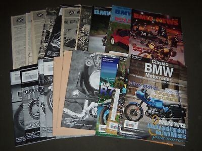 1970S-2000S Miscellaneous Bmw Magazine Lot Of 27 Issues - Car Owners - Pb 901