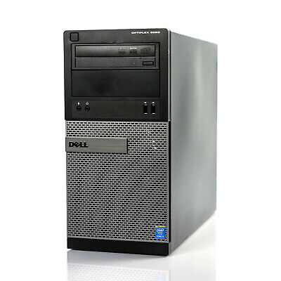 Custom Build Dell Optiplex 3020 MT  i3-4130 3.40GHz Desktop Computer PC