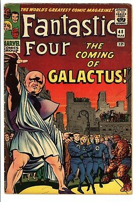 Fantastic Four #48 Vol 1 Very Nice Higher Grade 1st App Silver Surfer & Galactus