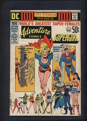 DC 100 page Spectaculer #10 Adventure 416 Comic  females Supergirl Wonder Woman