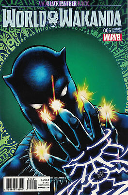 Black Panther World Of Wakanda #6 Velluto Variant Cover 1:20 Marvel Comic Book 1