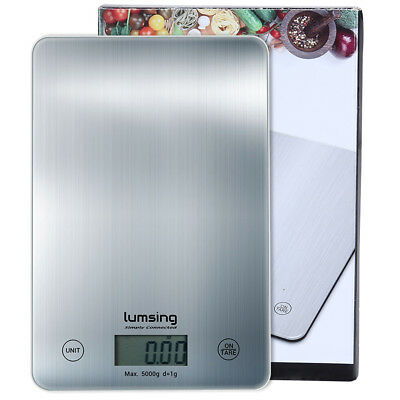 Digital LCD Kitchen Scale Food Diet Postal Mailing Weight Balance New 11lbs/5kg
