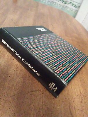 80's Original Pantone Library Of COLOR TINT SELECTOR Nice Complete Book/Binder