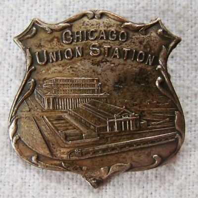 Chicago Union Station - Abzeichen - interessant- Art. 8609