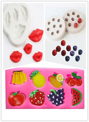 Fancy Chocolate Sugar Craft Mold Cup Cake Silicone Soap Biscuit Mould Cutter DIY