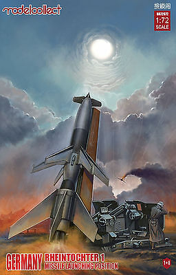 MODELCOLLECT UA72072 Rheintochter 1 Missile Launching Position in 1:72