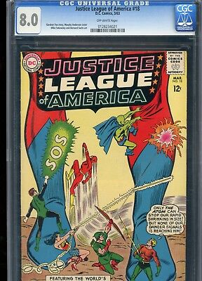 Justice League of America 18 1963 CGC Graded 8.0 Very Fine Wonder Woman Flash