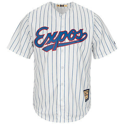 MLB Baseball Trikot Montreal Expos home weiß Cool base Majestic Jersey