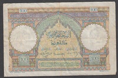 100 Francs From Morocco A6