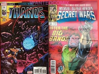 Thanos #13 Lenticular 3D & Thanos #14 Both First Prints Cosmic Ghost Rider New 1
