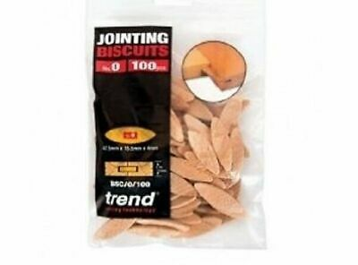 Trend BSC/0/100 No. 0 Beechwood Jointing Biscuits - Pack of 250