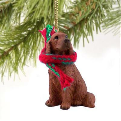 Irish Setter Dog Tiny One Miniature Christmas Holiday ORNAMENT