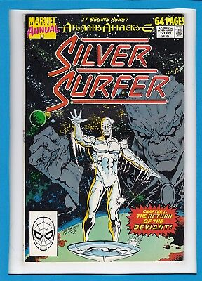 "Silver Surfer Annual #2_1989_Near Mint Minus_""the Return Of The Deviant""!"