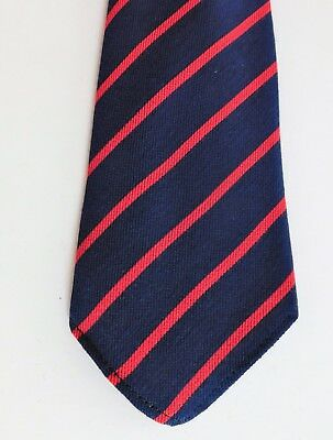 "Secondary school childrens uniform tie older boy girl Tootal 44"" UNUSED vintage"