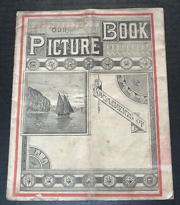 Vintage Kingsford's Oswego Corn Starch Our Picture Illustrated Advertising Book