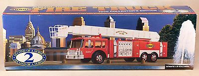 Sunoco Toy Aerial Tower Fire Truck 1995 New In Box