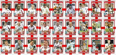 England Rugby Union World Cup winners 2003 Trading Cards