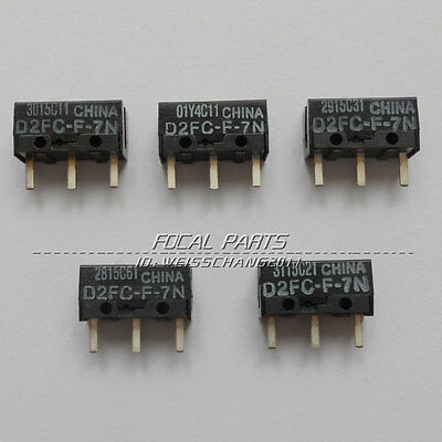 5Pcs Micro Switch D2FC-F-7N For Mouse MA US SHIPPING  N161