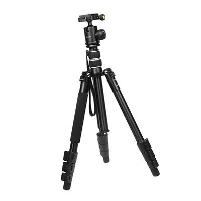 Lightweight Tripod & Monopod with 360 Panorama Ball Head for Travel (Small)