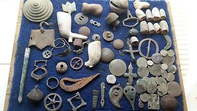 Large Lot Of Artefacts Found Metal Detecting
