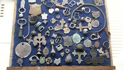 Large Lot Of Artefacts Found Metal Detecting 3